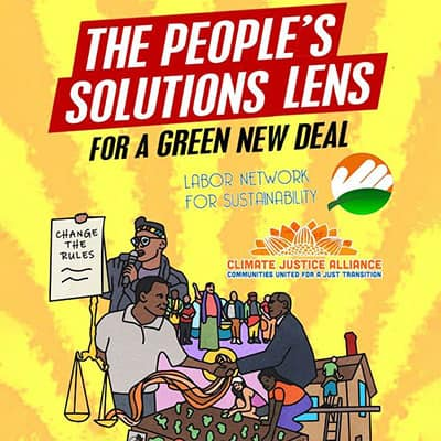 The People's Solutions Lens for a Green New Deal
